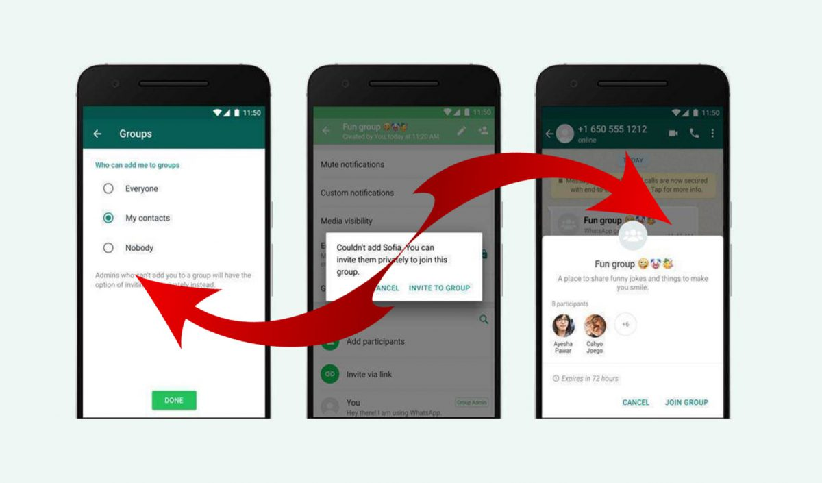WhatsApp'ta gruplara otomatik eklenme nasıl engellenir?