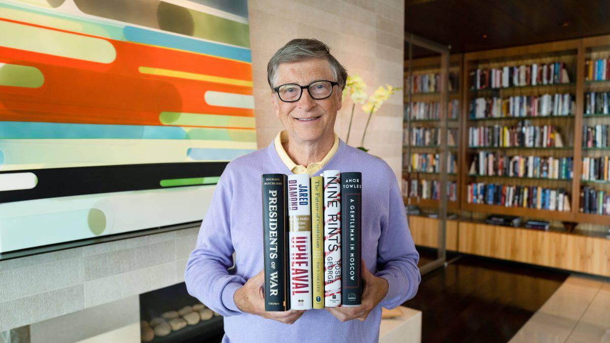 Bill Gates'in yaz tatilinde okumak için önerdiği 5 kitap